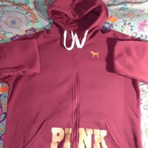 PINK Victoria Secret Zip Up Jacket